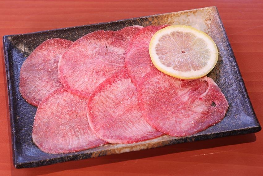 Japanese good foods Okayama Kurashiki touen beef tongue