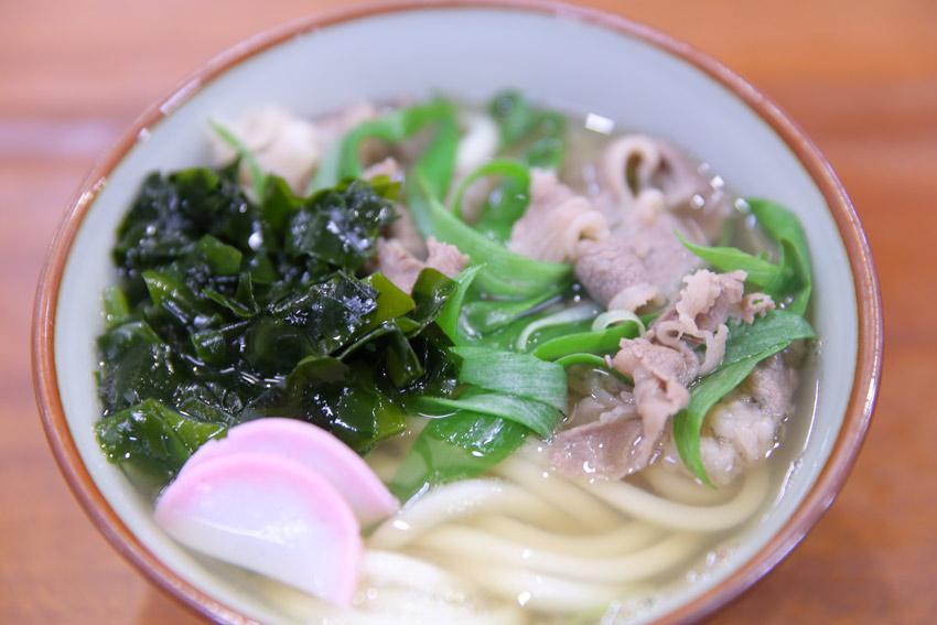 Niku Wakame Udon