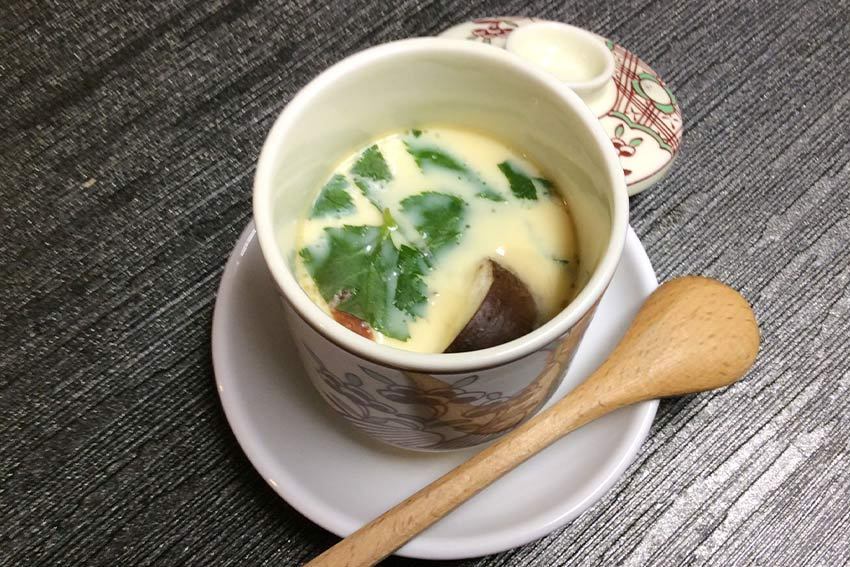 Steamed Brothy Custard