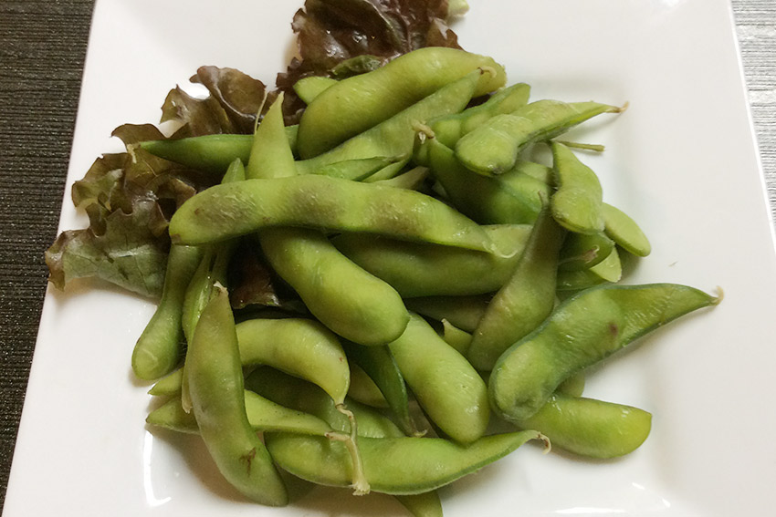 Boiled Green Soybeans