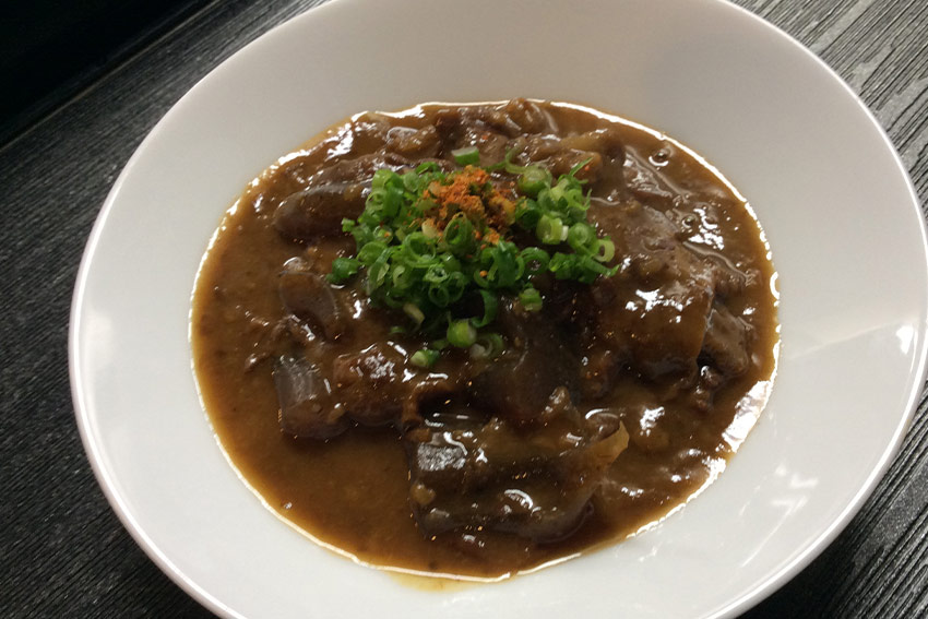 Beef Tendon Miso Stew