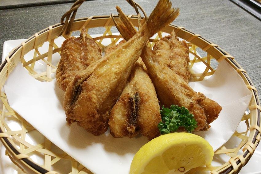 Deep-fried Puffer Fish