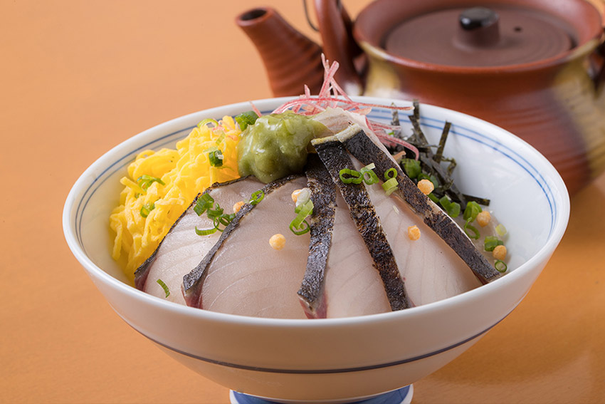 Rice and Spanish Mackerelin Broth